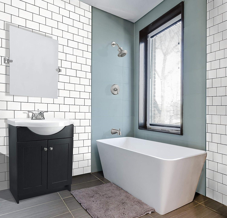 Chrome Design House 560946 Mill Bridge Square Pivot Mirror