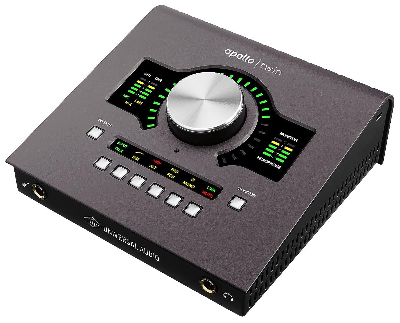 Universal Audio Apollo Twin MkII/DUO【国内正規品】 B01MS8XYN3