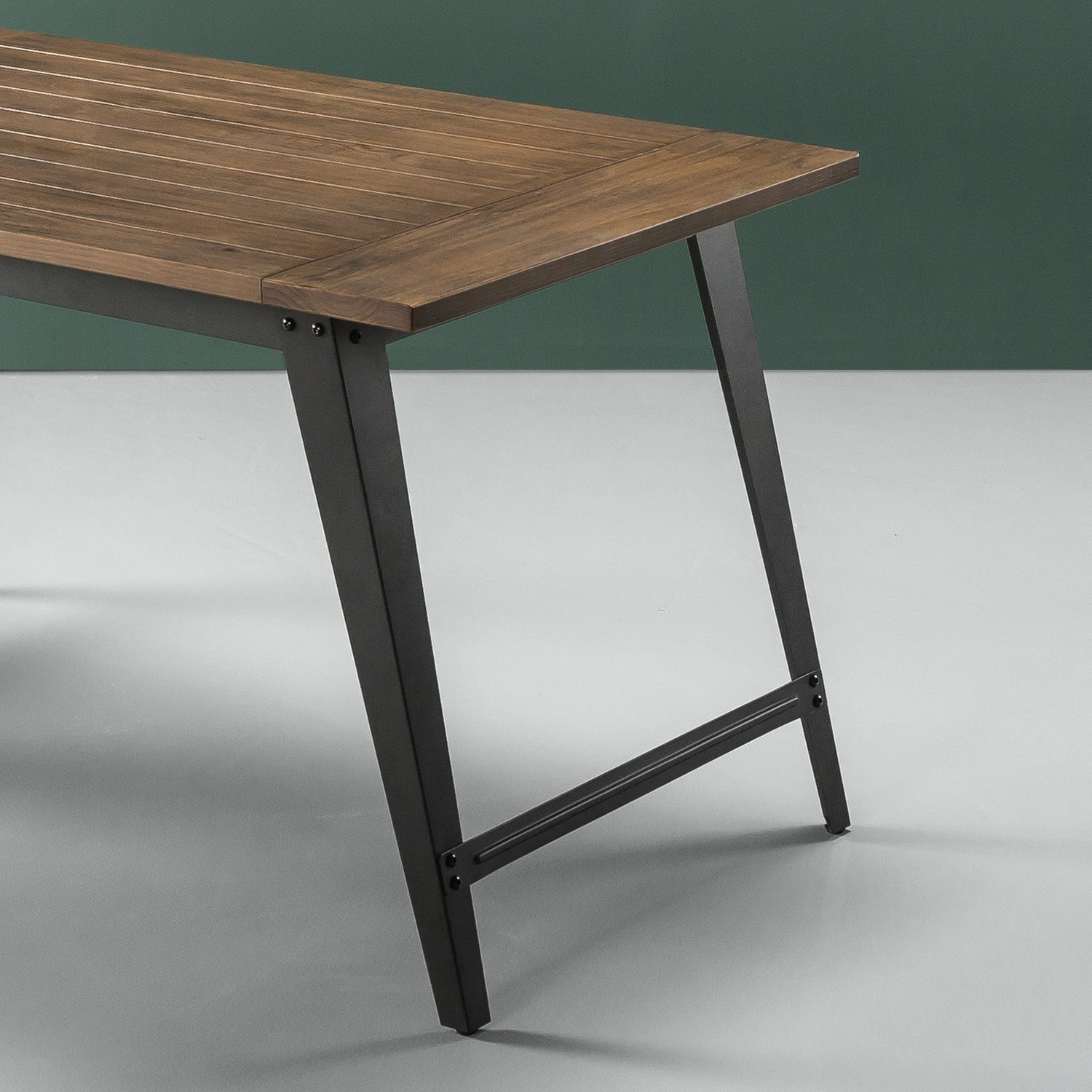 Zinus Donna Wood and Metal Dining Table by Zinus (Image #4)