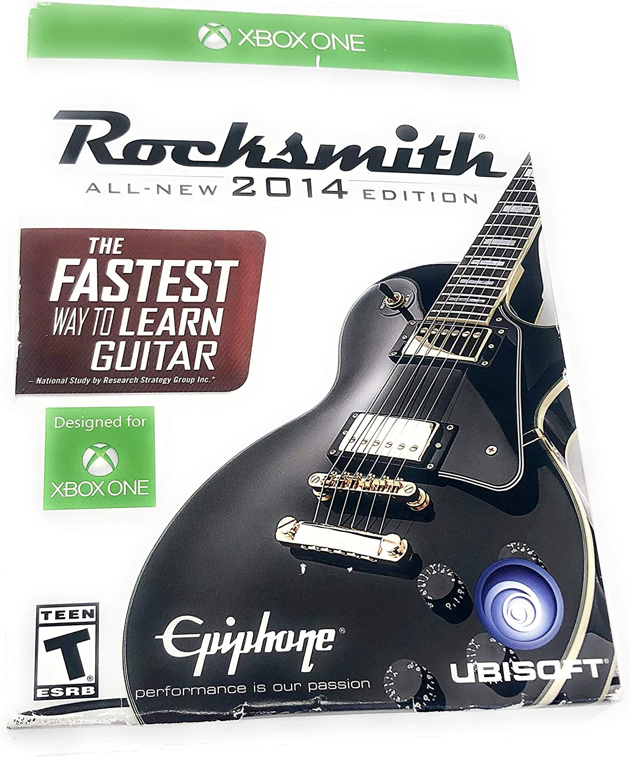 Rocksmith 2014 Edition with Real Tone Cable (Xbox One) by UBI Soft: Amazon.es: Videojuegos