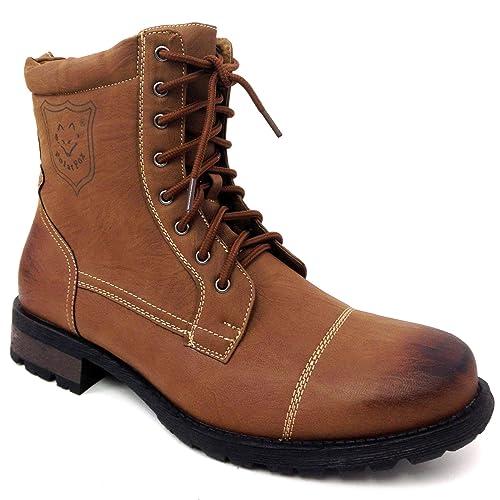 Polar Fox - Militar, Botas de Combate, Botines, Oxfords Hombres: Amazon.es: Zapatos y complementos