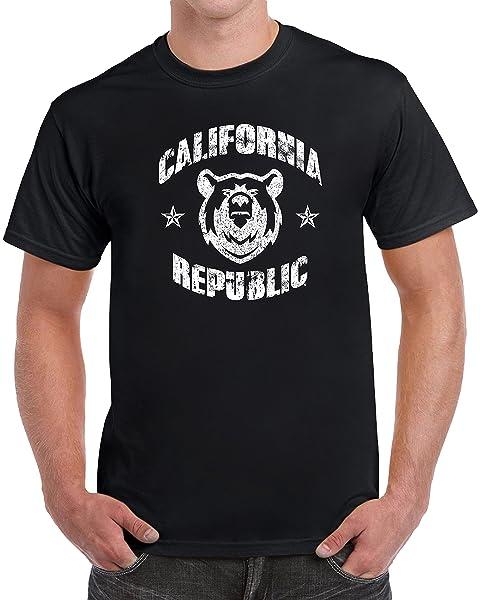 California Republic Grizzly Bear S Tshirt