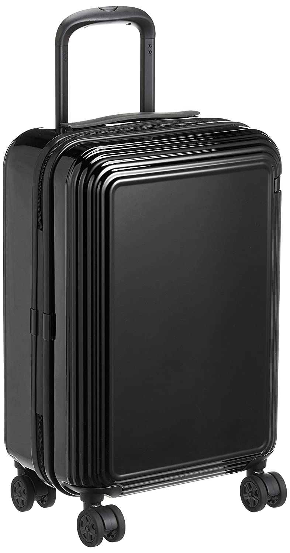 [エース] スーツケース リップルZ ワイヤーコード キャスターストッパー 35L 47 cm 3.2kg B073XF8TL1 ブラック