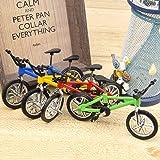 Hotusi 9pcs Mini Finger Bikes Mini Extreme Sports