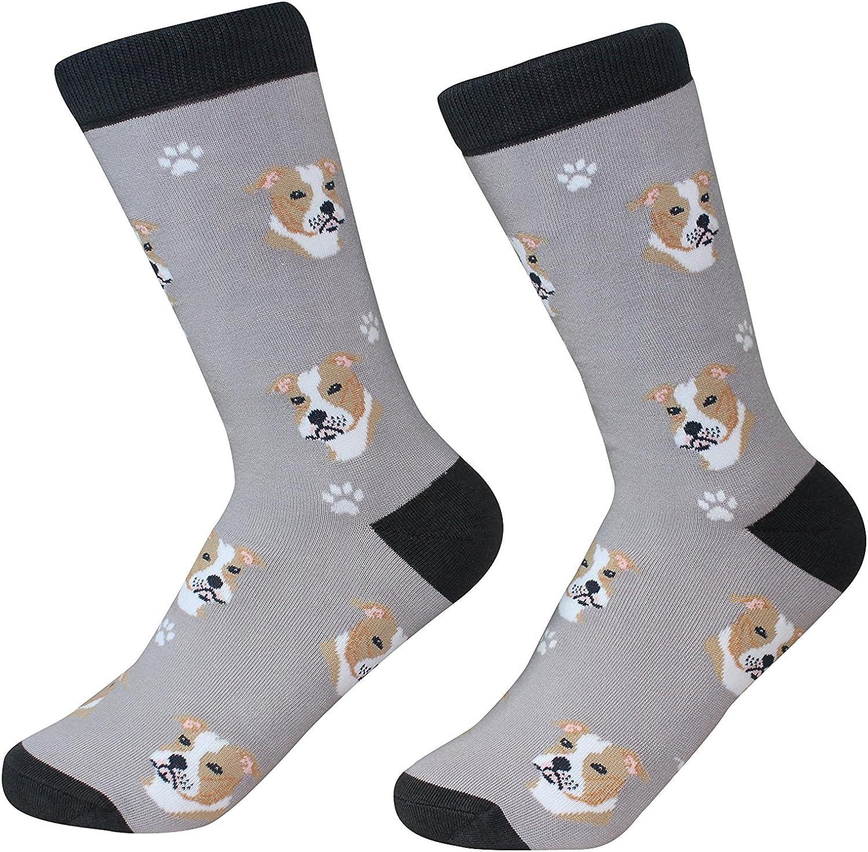 Pitbull Dog Breed Socks Unisex Sock Daddy by E&S Pets