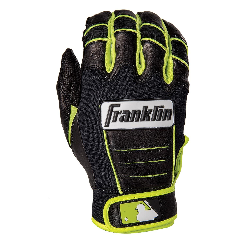 Franklin (フランクリン) スポーツ MLB CFX Pro バッティング グロ―ブ B013LPT5LU 3L|Black/Optic Yellow Black/Optic Yellow 3L