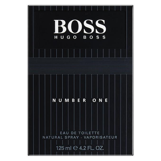 HUGO BOSS-BOSS Nº 1 agua de tocador vaporizador 125 ml: Amazon.es: Belleza