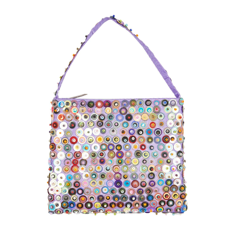 Shu-Shi Little Sequin Purse Bag for Girls Princess Glitter Handbag 5.5 W by 4.75 H