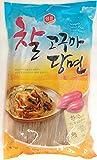Sempio Glass Noodles, Korean Vermicelli, Dangmyun, Sweet Potato Starch (0.99 lbs/450g)