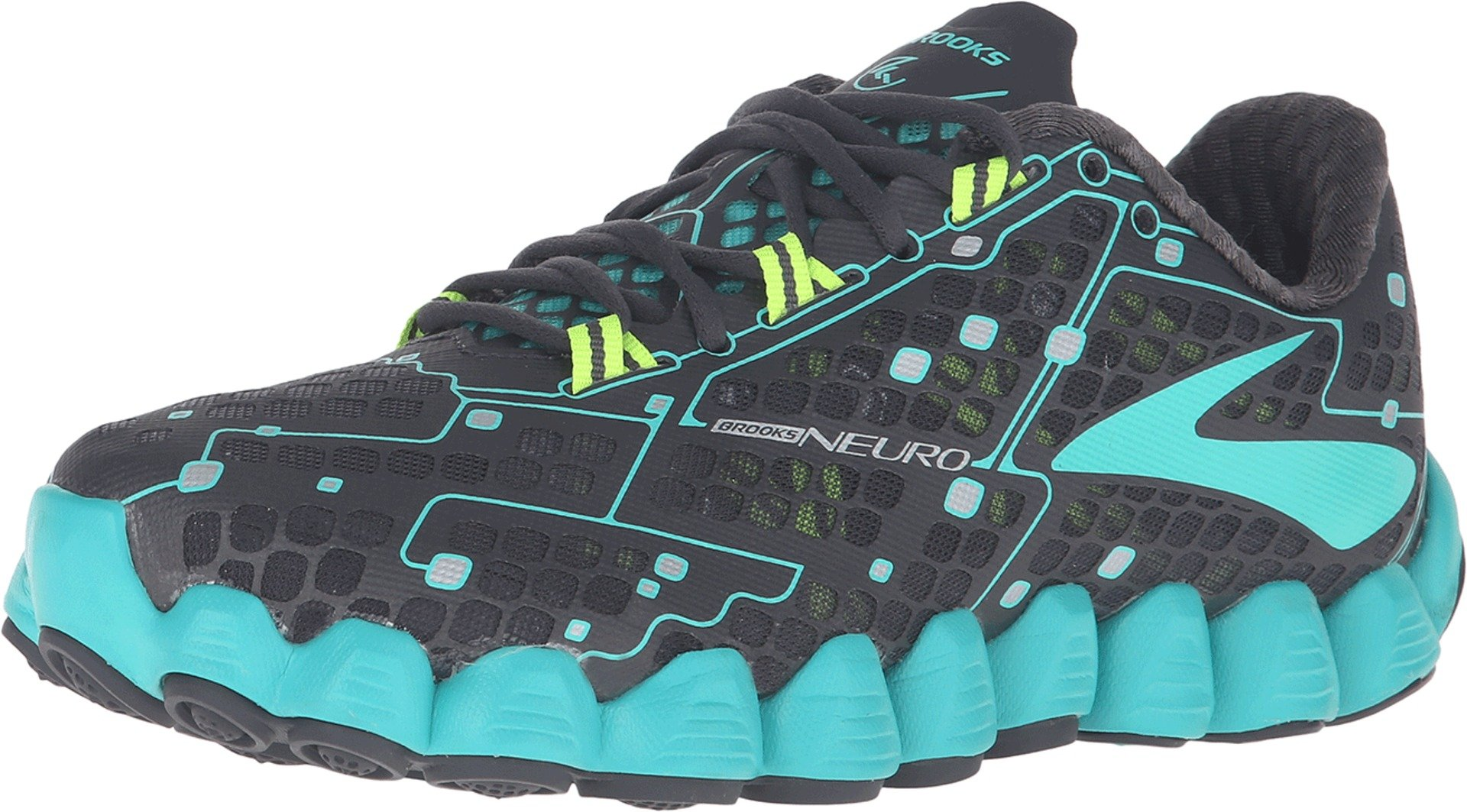 Brooks Women's Neuro Anthracite/Ceramic/Nightlife Sneaker 9 B (M)