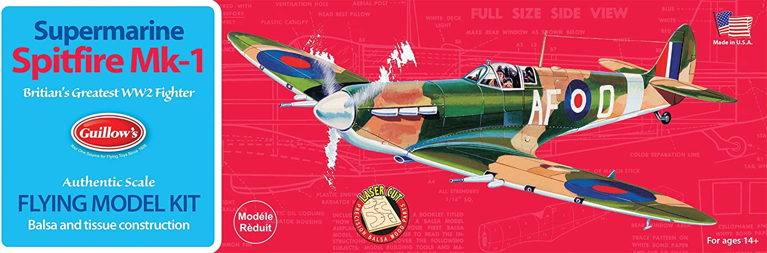 Guillow's Spitfire Model Kit