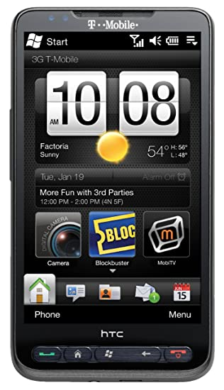 Amazoncom Htc Hd2 Grey T Mobile Cell Phones Accessories
