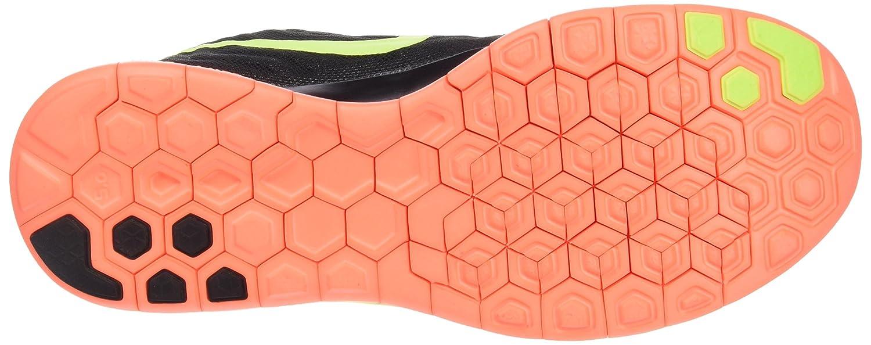 Nike Women's Free Running US|Black/Bright Shoe B00WGCKRJO 7 B(M) US|Black/Bright Running Mango/Volt 7a3050