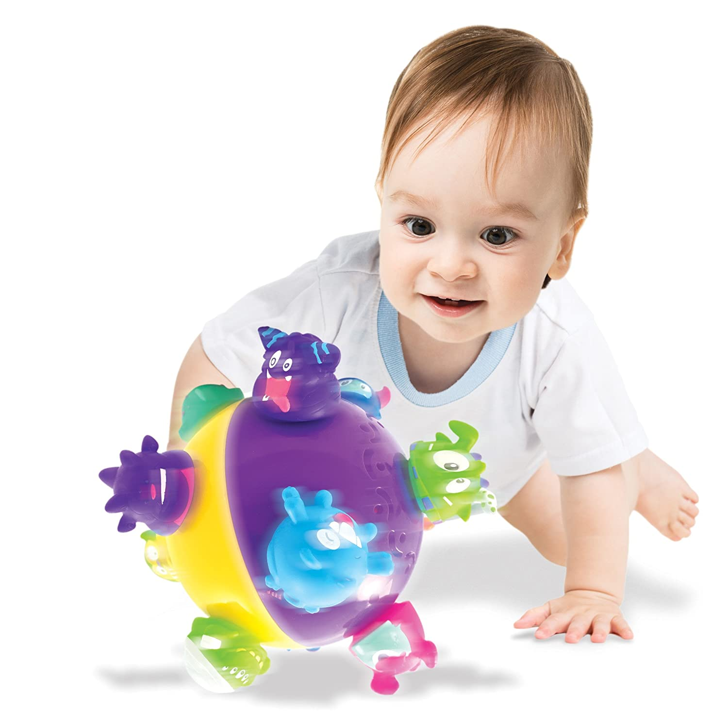 Chuckle Ball Motorised Moving Toddler Baby Activity Game Toy