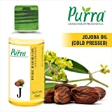 Purra Cold Pressed Jojoba Carrier Oil, 50ml