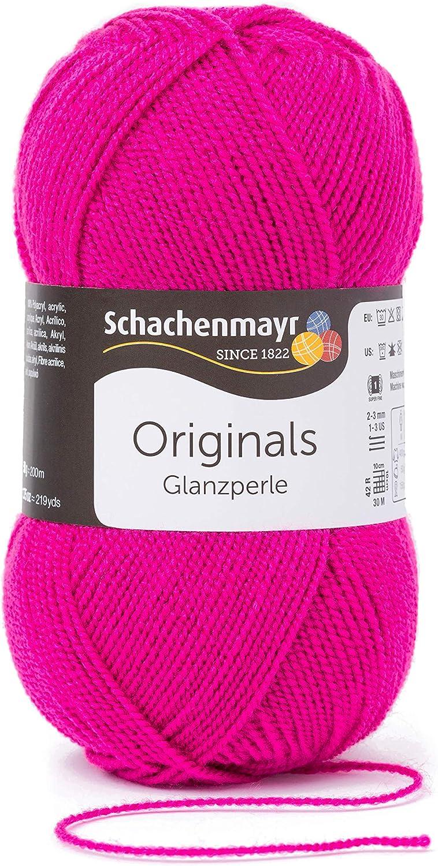 Schachenmayr Handstrickgarne Glanzperle 50g Begonie