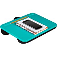 Lap Desk with Storage 2 Turquoise