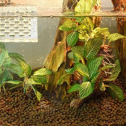 UxradG 3 tipos de planta de plástico, hierba, acuario artificial pecera decoración acuario decoración