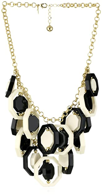 "92f142c15c626b Image Unavailable. Image not available for. Color: Kate Spade New York  ""Octagonal Statement Necklace"