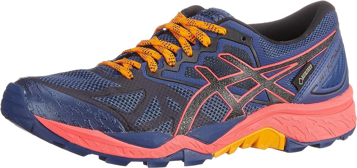 Asics Traillaufschuh Gel-Fujitrabuco 6 G-TX, Zapatillas de Running para Asfalto Mujer, Azul (Blue Print/Black 400), 37 EU: Amazon.es: Zapatos y complementos