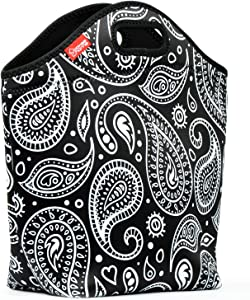 Neoprene Lunch Bag for Women, Yookeehome 13.5