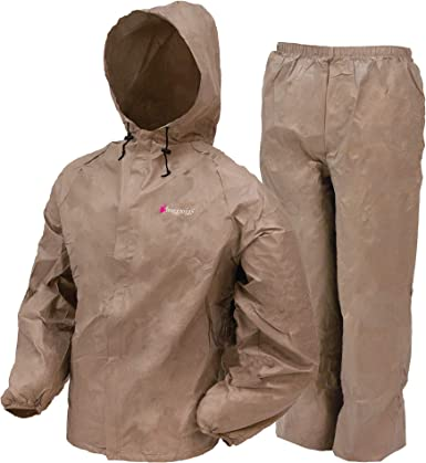 X-Large FROGG TOGGS Womens Ultra-Lite2 Waterproof Breathable Protective Rain Suit Khaki