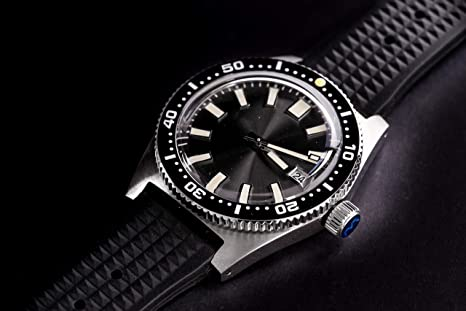 Amazon.com: Sharkey NH35A Diver Automatic Wristwatch MarineMaster Man Sapphire Fully Lumed: Watches