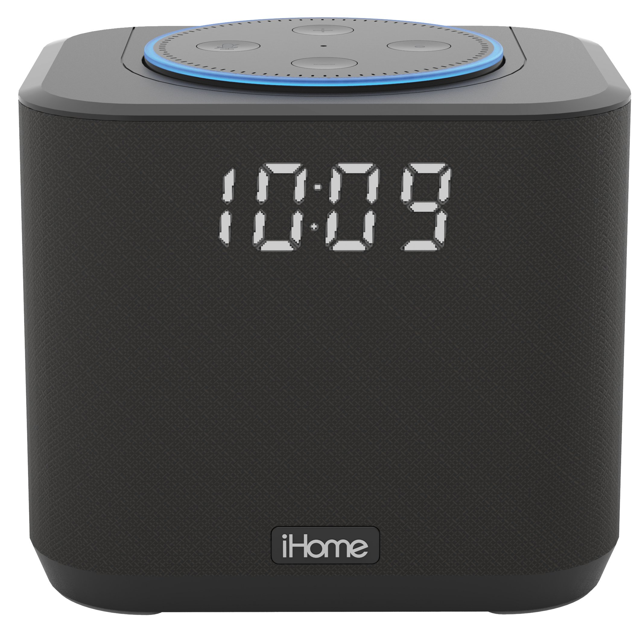 iHome Docking Bedside and Home Office Amazon Echo Dot Speaker System - iAV2B by iHome