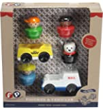 Fisher-Price Little People Mail, Taxi & Figures Playset