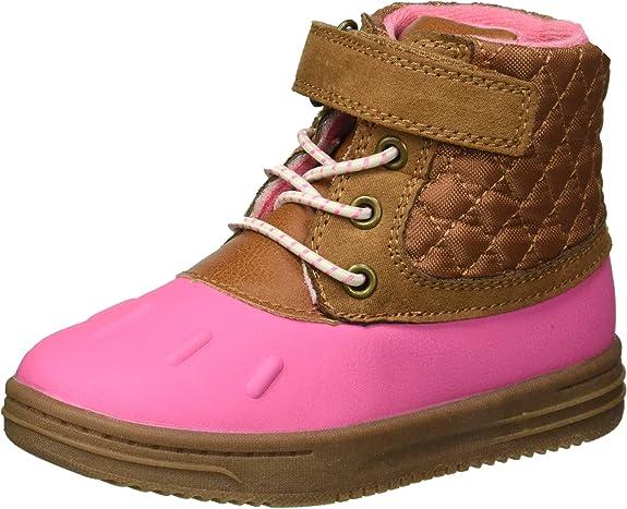 Girls' Bay2-G Duck Fashion Boot, Pink