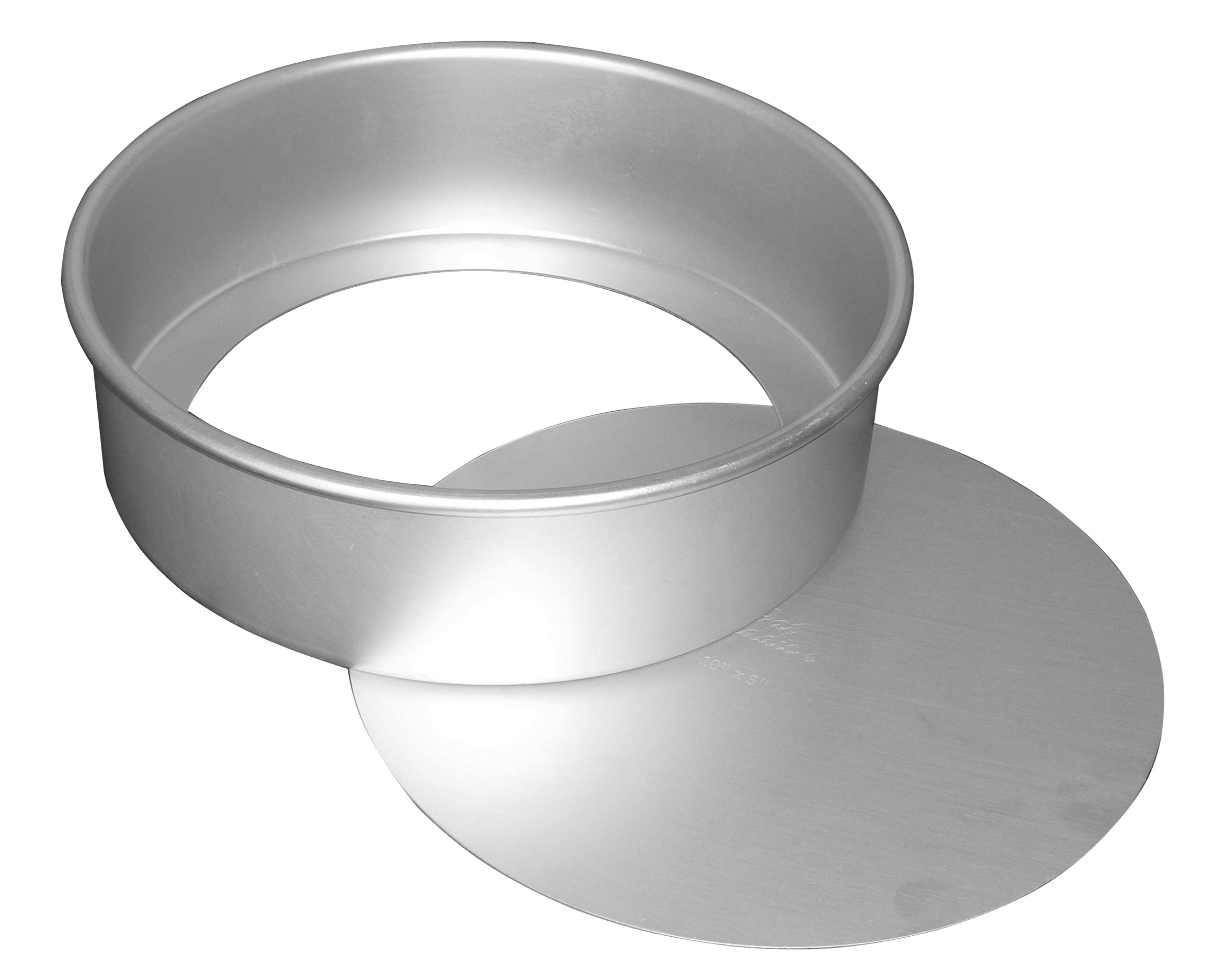 Fat Daddio's Anodized Aluminum Round Cheesecake Pan with Removable Bottom, 7 Inch x 3 Inch