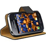 mumbi Ledertasche im Bookstyle für Samsung Galaxy Young S6310N / Galaxy Young DUOS S6312 Tasche