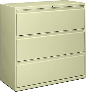 product image for HON 893LL 800 Series 42 by 19-1/4-Inch 3-Drawer Lateral File, Putty