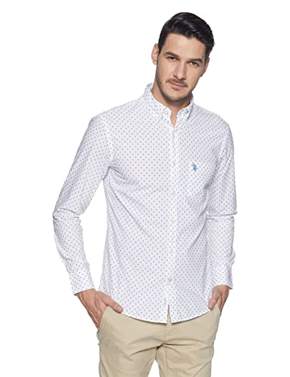 9d124e1e74cee US Polo Association Men s Casual Shirt  Amazon.in  Clothing   Accessories