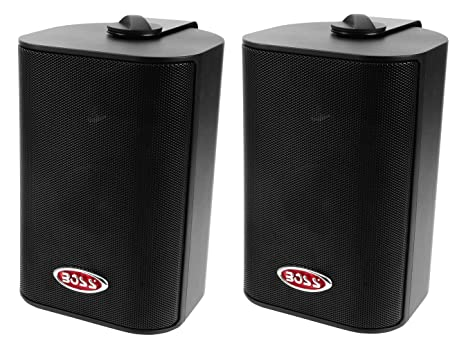 BOSS AUDIO MR4.3B 3-WAY BOX SPEAKER BLACK