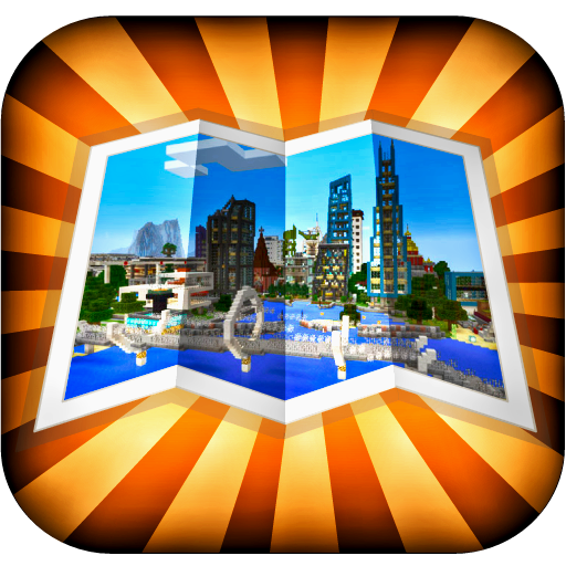 Maps for Minecraft PE (Best Mod Installer For Minecraft)