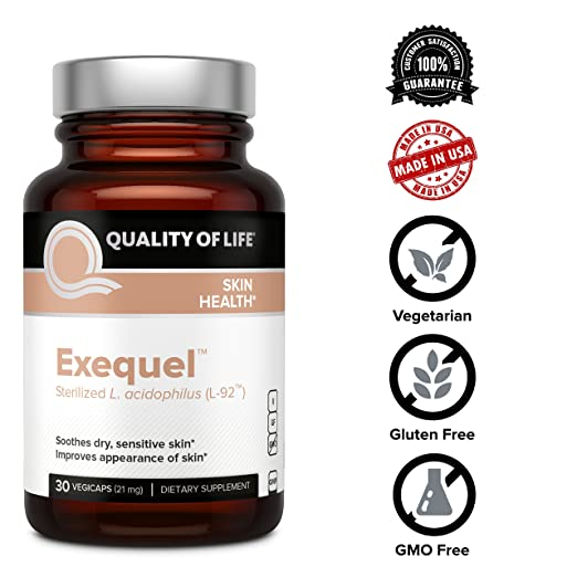 Amazon.com: Powerful Skin Health Supplement – Soothes Dry Sensitive Skin, Reduces Redness & Supports Healthy Hydrated Skin – Includes Probiotic ...
