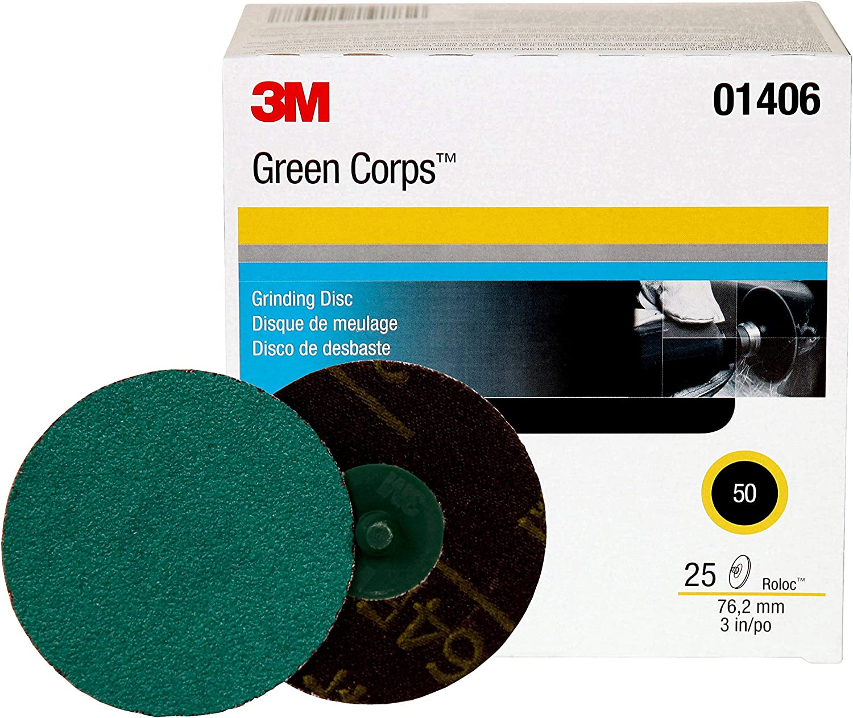 3M 01406 Green Corps Roloc Green Disc 81DyjKVWp2BL