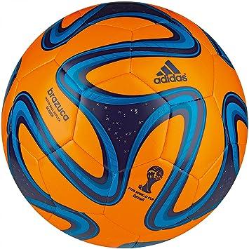 Adidas G73629-4 Brazuca Glider Orange-Blue - Balón de fútbol ...