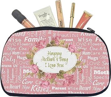 Amazon com : Mother's Day Makeup/Cosmetic Bag - Medium : Beauty