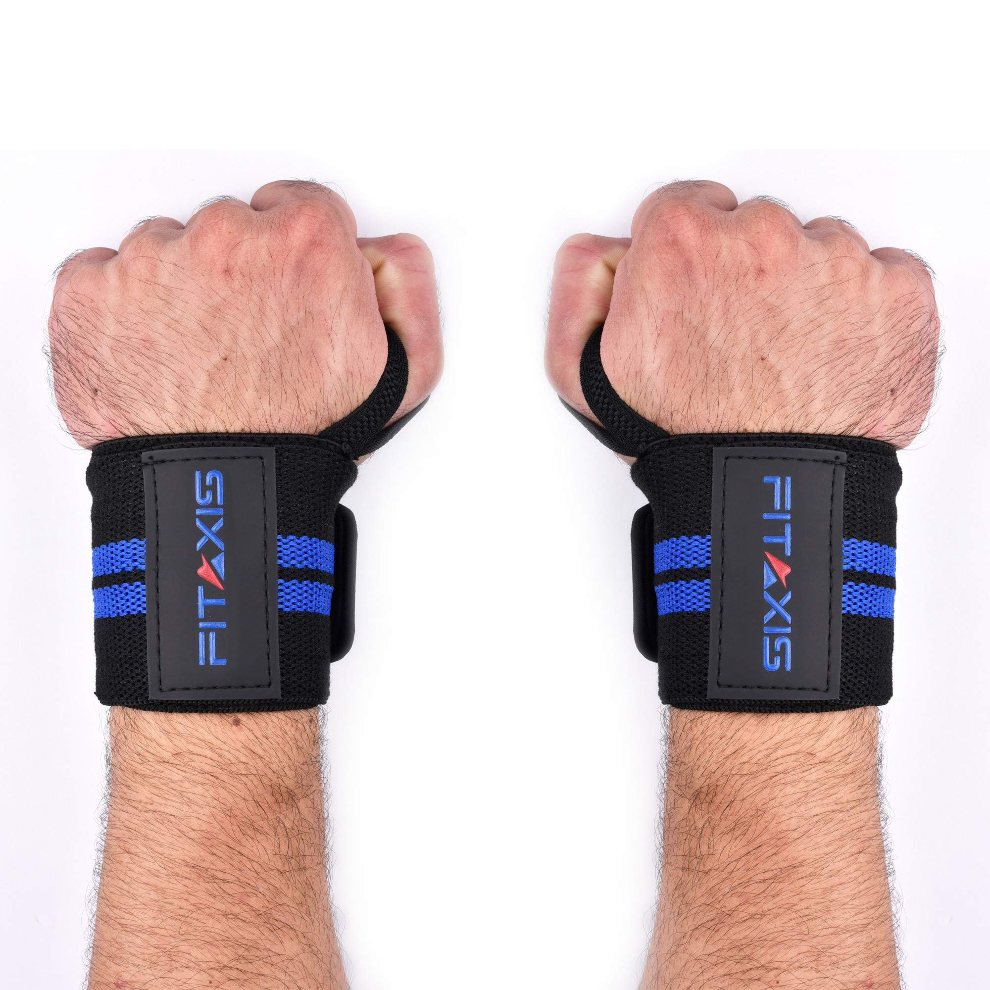 FITAXIS Muñequeras | Wrist Wraps/Bands for Gimnasio Fitness Crossfit Weightlifting para Hombres y Mujeres (Black/Blue, 18"|2000|2000|?|8f30758b52d3450916e9da821898476e|False|UNLIKELY|0.32581210136413574