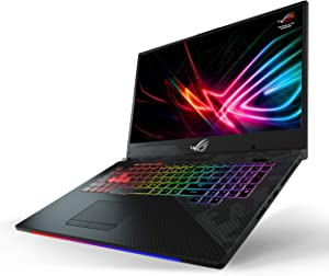 "Asus ROG Strix Scar II Gaming Laptop, 17"" 144Hz IPS-Type Full HD, NVIDIA GeForce RTX 2060 6GB, Intel Core i7-8750H, 16GB DDR4 RAM, 512GB PCIe SSD, RGB KB, Windows 10 - GL704GV-DS74"