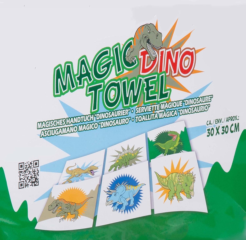 Calidad Essentials - dinosaurios para la bañera Magic toalla de algodón - toalla para la cara de franela Boy niños niños niños niño - gran presente idea de ...