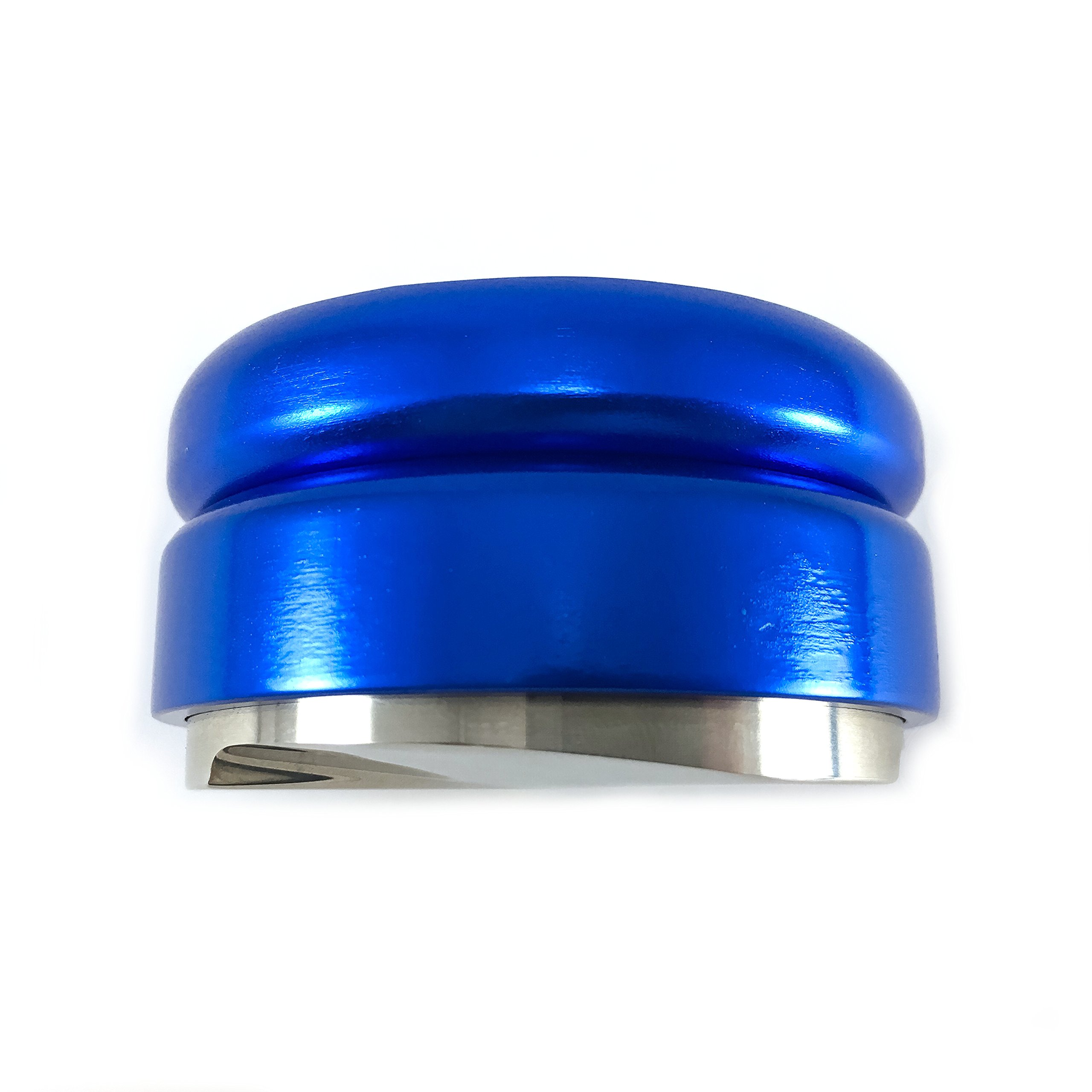 Coffee Distributor/Leveler Tool – for 58mm Espresso Portafilters – EVENLY DISTRIBUTES COFFEE GROUNDS – Provides Proper Tamping - ADJUSTABLE (58mm, Blue) by Coffee Nebula (Image #5)