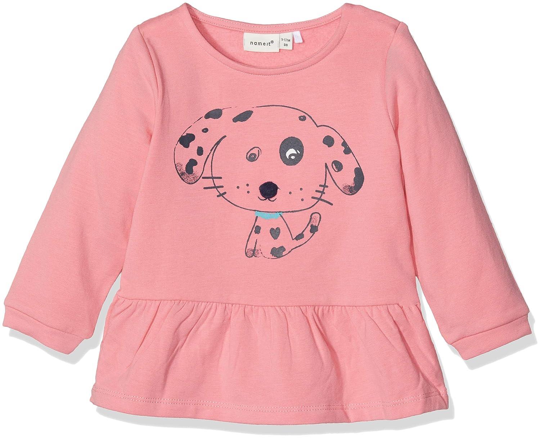 NAME IT Baby-M/ädchen Sweatshirt Nbfnessie SWE O-Neck Bru