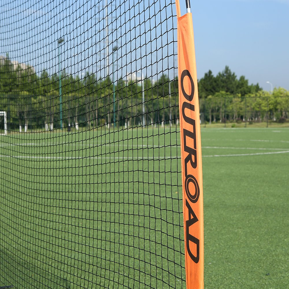 OUTROAD 12x9 FT Barrier Net - Portable Sports Barricade Practice Backstop Net w/ Carry Bag by OUTROAD (Image #7)