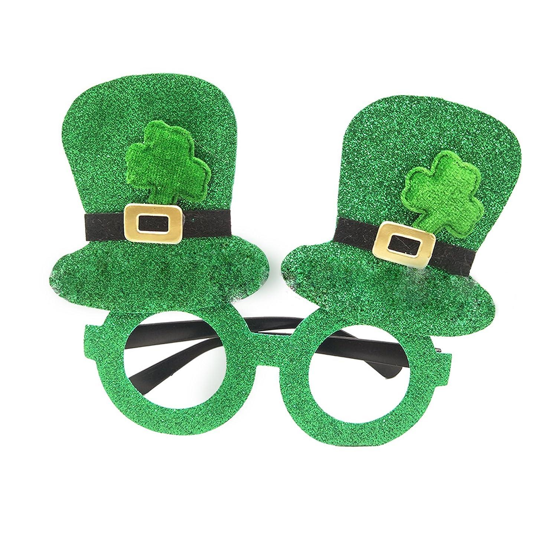 Qable Powerz Irish Princess Crown Headband, ST Patrick's Day Novelty Tiara Headband