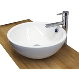 Rundes Aufsatzwaschbecken rundes design keramik aufsatz waschbecken waschschale modell 05