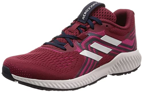 superior quality 00cae b69ae Adidas Womens Aerobounce 2 W NobmarSilvmtReamag Running Shoes-5 UK