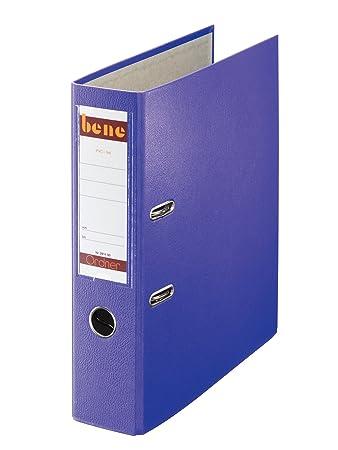 Bürobedarf ordner  Bene 291400VI Ordner Standard A4 violett: Amazon.de: Bürobedarf ...